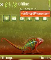 Chameleon 01 theme screenshot