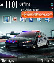 Ford police theme screenshot