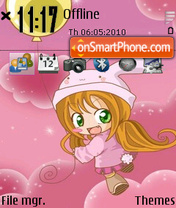 Bubbys tema screenshot
