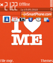 I love me 01 theme screenshot
