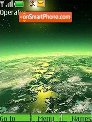 The green world theme screenshot