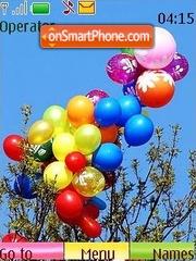 Скриншот темы Balloons