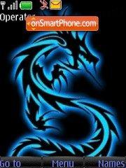 Скриншот темы Blue Dragon 02