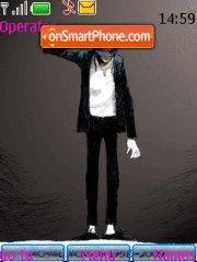Michael Jackson theme screenshot