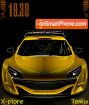 Sport car tema screenshot