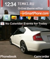 Subaru Ghosts theme screenshot
