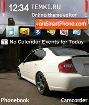 Скриншот темы Subaru Ghosts