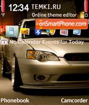 Скриншот темы Subaru Garage