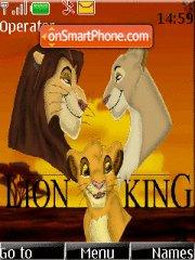 Lion King with ringtone theme screenshot