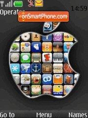Скриншот темы iPhone 11