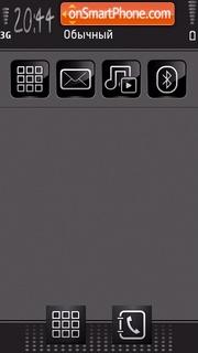 Gr3y theme screenshot