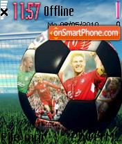 Liverpool Fc Ball es el tema de pantalla
