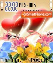 Floralove theme screenshot