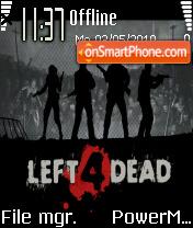 Left 4 dead 03 es el tema de pantalla