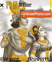 Radhakrishna tema screenshot