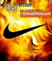 Nike 20 theme screenshot