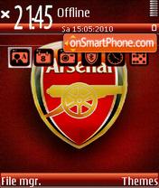 Arsenal Fc 02 theme screenshot