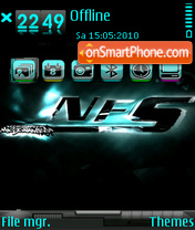 Nfs most wanted 09 theme screenshot