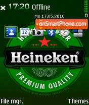 Heineken 10 theme screenshot