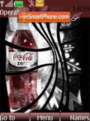 Coke Zero theme screenshot