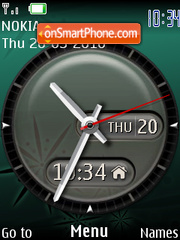 Reloj Amelia theme screenshot