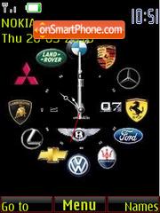 Скриншот темы Reloj marcas