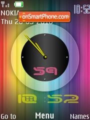 Reloj Dual theme screenshot