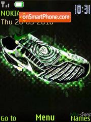 Скриншот темы Taco Nike