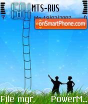 Mobile Media Sky theme screenshot