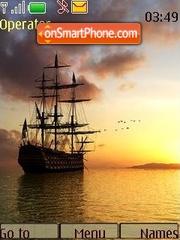 Sea theme theme screenshot