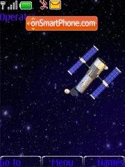 Earth satellite theme screenshot