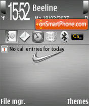 Very Nice Nike Theme theme screenshot