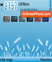 Скриншот темы Cold (Bars)
