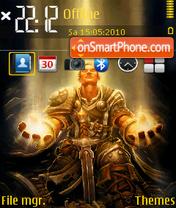 Warcraft 10 theme screenshot