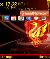 Liverpool Fc 08 es el tema de pantalla