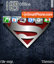 New Superman es el tema de pantalla