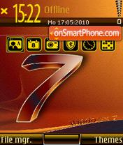 Capture d'écran Windows se7en 02 thème