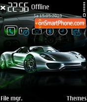 Porsche 918 FP1 es el tema de pantalla