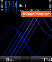 N70 XM Blue MrM@anson 7-8.0os theme screenshot