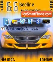 BMW Tuned es el tema de pantalla