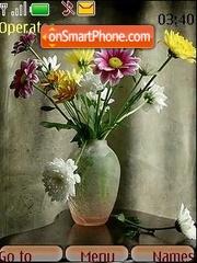 Bouquet es el tema de pantalla