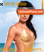 Priyanka Hot Bikini theme screenshot