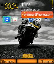 Bike 09 theme screenshot