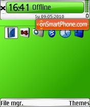 Style v2 green 01 theme screenshot