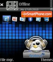 Dj Penguin 01 theme screenshot