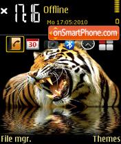 Tiger Perfect theme screenshot