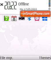Nokia Search by benlen iblack theme screenshot