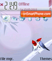BirdLove theme screenshot