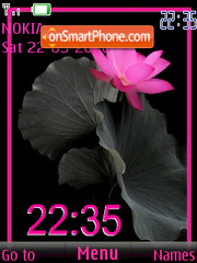 Скриншот темы Pink