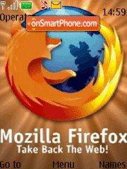 Скриншот темы Firefox